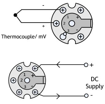 TTC200 In Head Temperature Transmitter for Thermocouples.