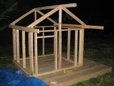 playhouse for kids plan