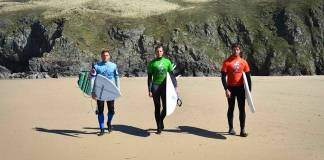 Military Adventure Training Surf Lessons
