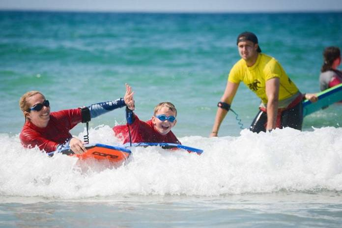 Family Bodyboard Lessons Newquay