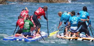 Military Adventure Training Racing Super SUP & Orienteering