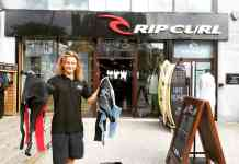 Rip Curl recycle old wetsuit