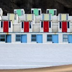 Beach Huts at Tolcarne Beach, Newquay