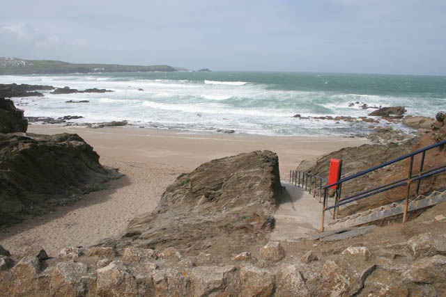 Little Fistral Beach