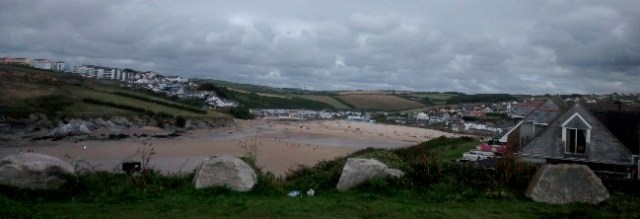 Porth Beach Newquay Cornwall
