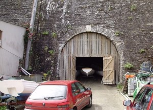 Treffry Tunnel Newquay Harbour