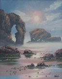 Chapel Rock, Perranporth, by David Dyer, Owens,