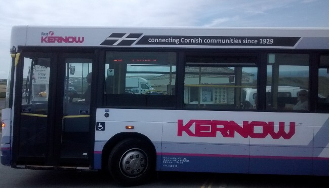 Buses From White Acres to Newquay