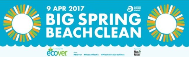 9 April 2017 Big Spring Beach Clean 2017 SAS eCover