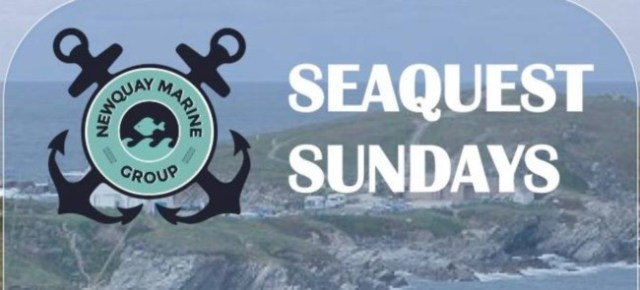 Newquay Marine Group Seaquest Sundays 2017
