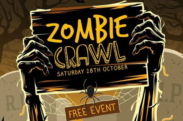 Halloween Events Newquay 2017 Free Zombie Crawl