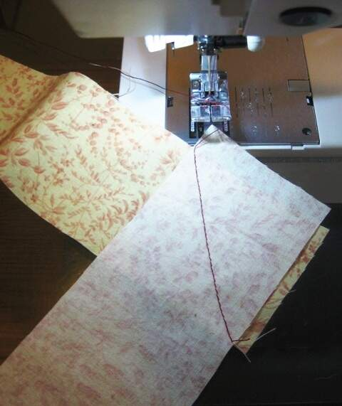 How To Make Quilt Binding From Fabric Strips