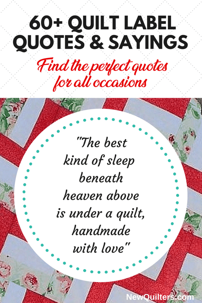 Quotes About Quilt : quotes, about, quilt, Quilt, Label, Quotes, Sayings, Occasions, Quilters
