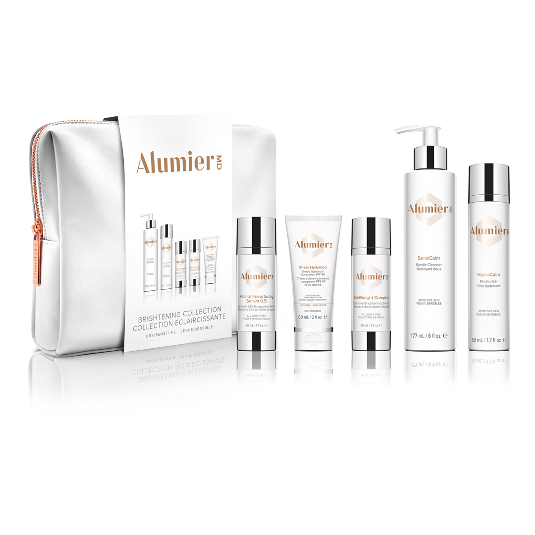 AlumierMD Brightening Collection for Hyperpigmentation – Dry / Sensitive