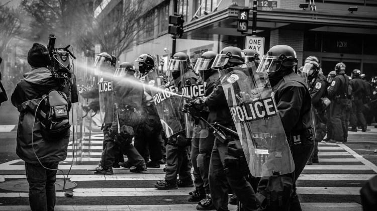 Hong Kong Protest Stock Image
