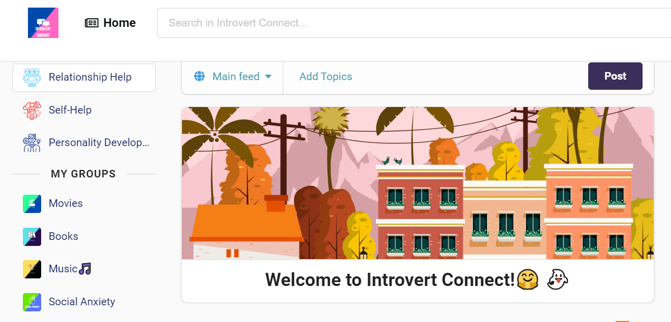 Now, A Social Network For Introverts