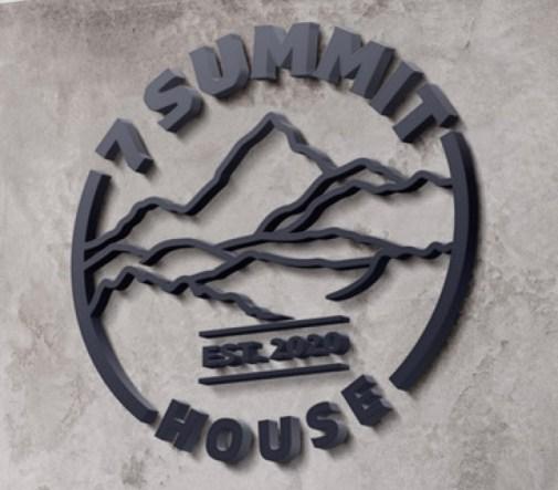 7 Summit House Sign