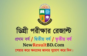 Degree Result 2020, Degree 1st year result, Degree 2nd year result, Degree 3rd Year Result, National University Degree Pass Result 2020 at nu.ac.bd/results