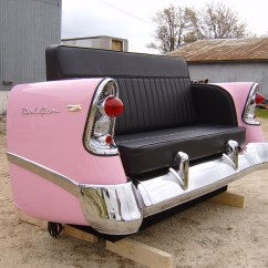 Cars Sofa Chair Furniture Company New Retro Restored Classic Car And Decor