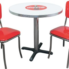 Coca Cola Chairs And Tables Target Patio New Retro Dining Furniture