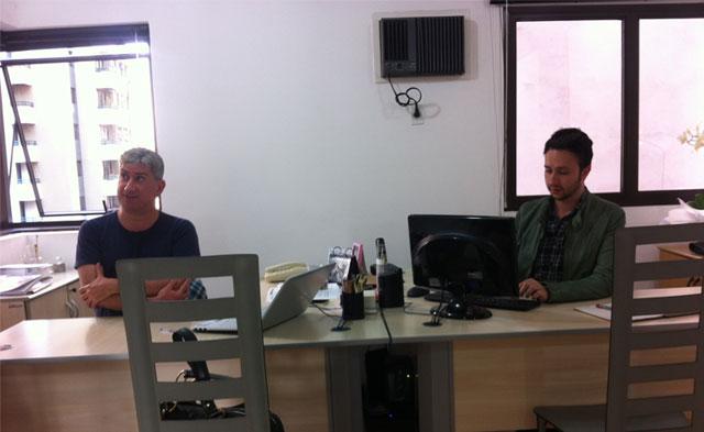 (Da esquerda para direita: Fernando Adas e Rafael Figueredo)