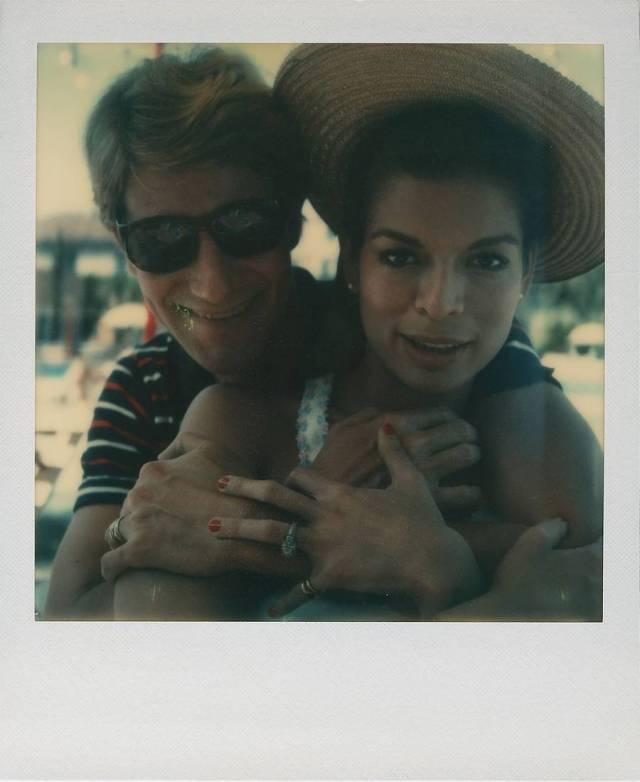 YSL e Bianca Jagger