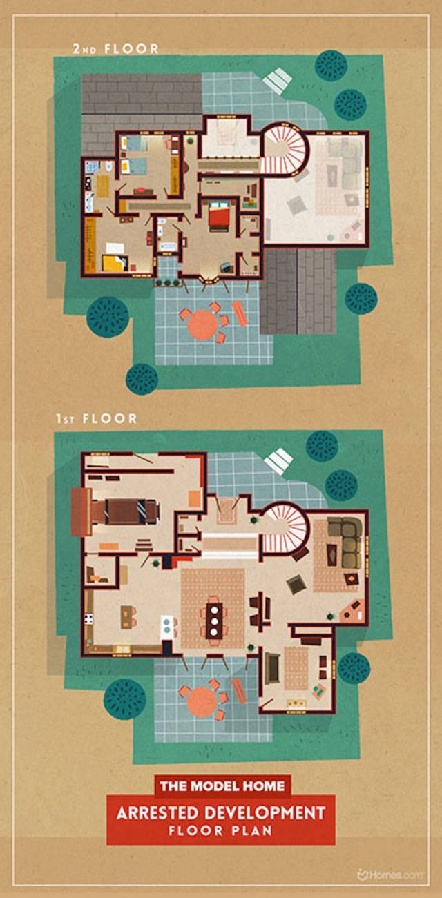 Home-Floor-Plans-of-Famous-TV-Shows-1-900x1829