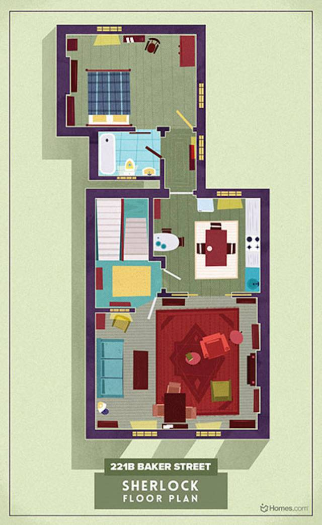 Home-Floor-Plans-of-Famous-TV-Shows-8-900x1467