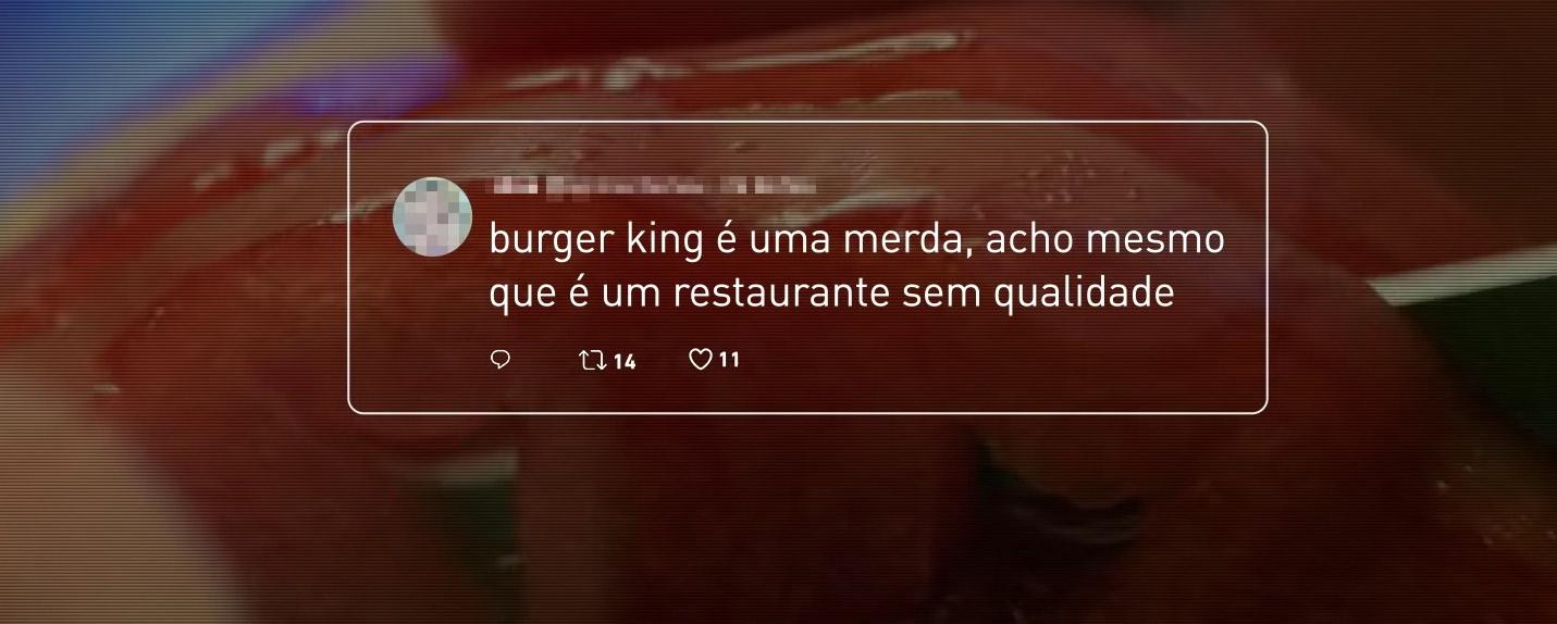 Burger King usa críticas a si mesmo para desconstruir preconceito