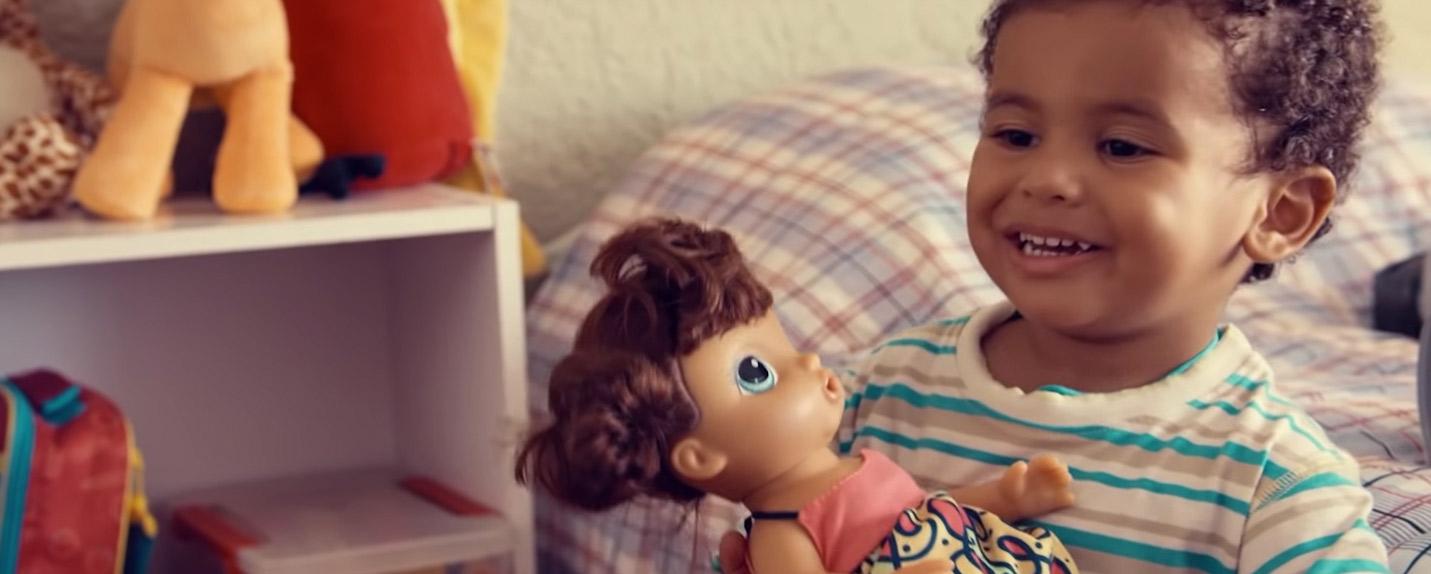 Hasbro quebra estereótipos de gênero em nova campanha