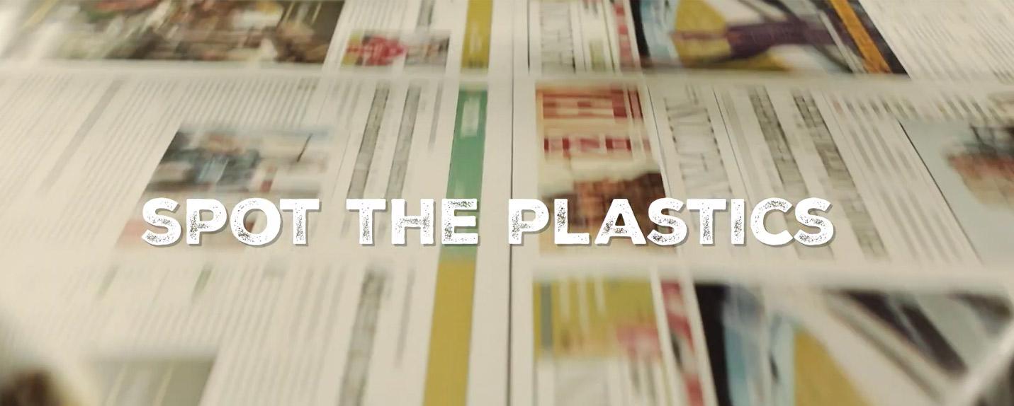 """""""Spot the Plastics"""" mostra que identificar o problema é o primeiro passo"""
