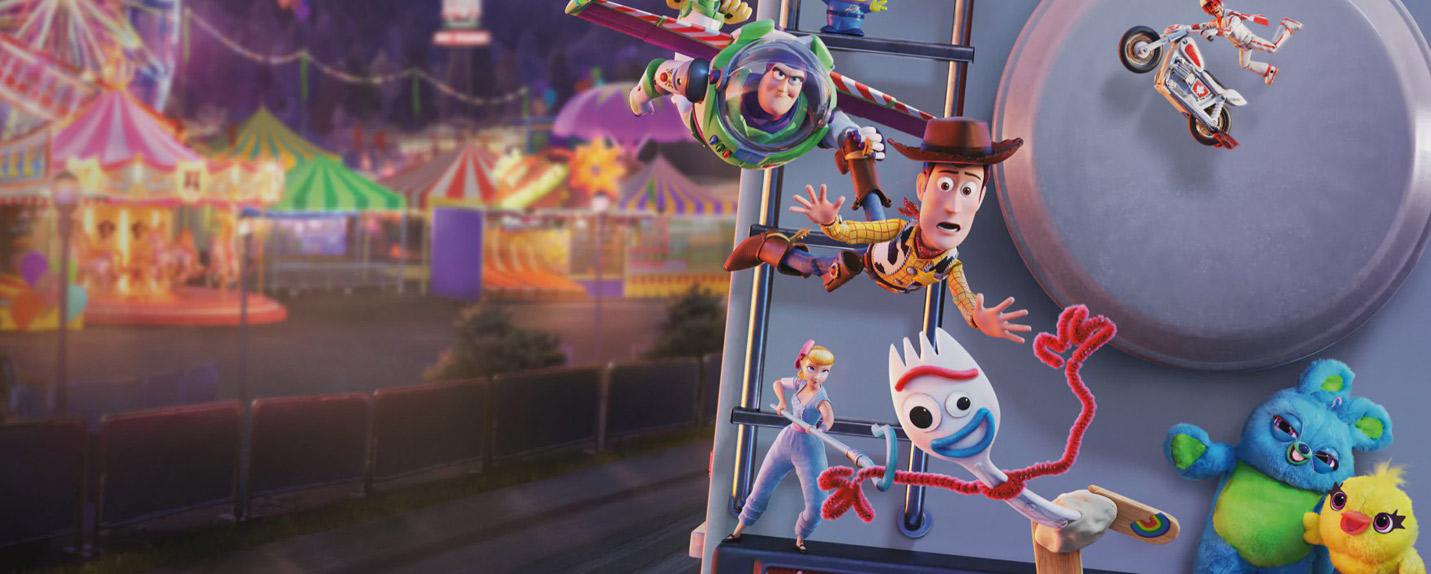 """Por trás das câmeras de """"Toy Story 4"""""""