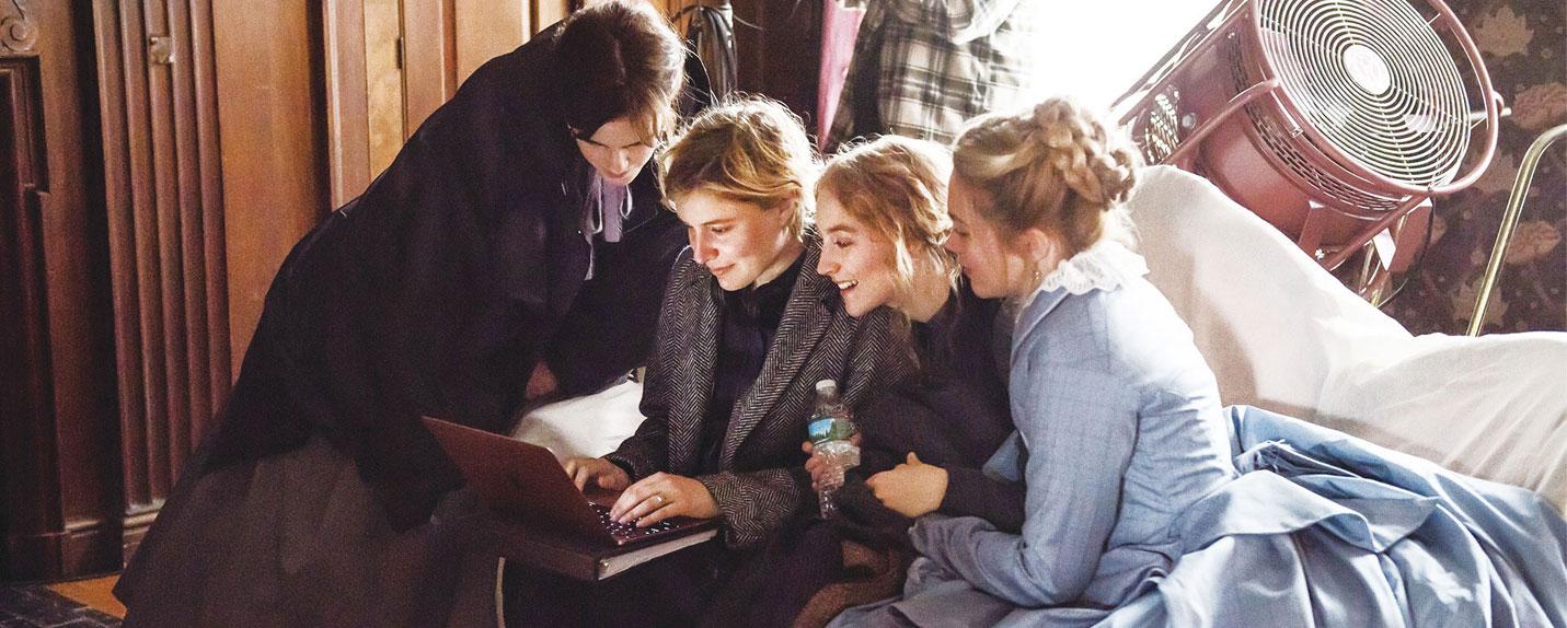 Por trás de Adoráveis Mulheres com Greta Gerwig