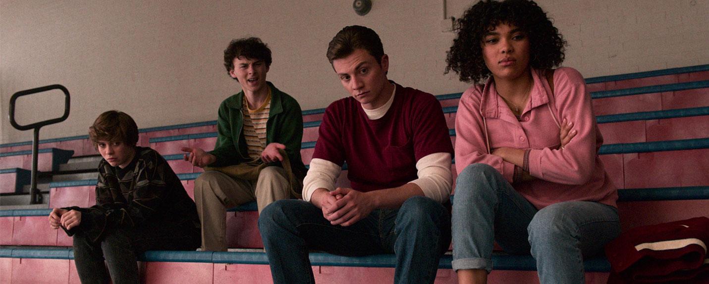 A nova série de ficção científica adolescente da Netflix