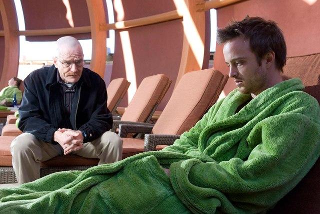 Jesse na reabilitação em verde