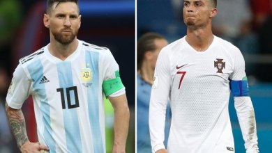 Photo of بعدما سجل رونالدو هدفه رقم 100 .. عدد أهداف ميسي الدولية مع الأرجنتين