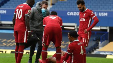 Photo of بعد فان دايك – إصابة نجم جديد في ليفربول قبل انطلاق دوري أبطال أوروبا