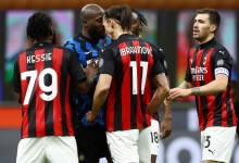 Photo of بالفيديو – شجار وسباب بين لوكاكو وإبراهيموفيتش في كأس إيطاليا