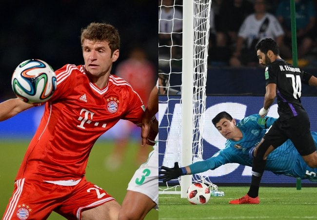 العين - ريال مدريد - الرجاء - بايرن ميونخ