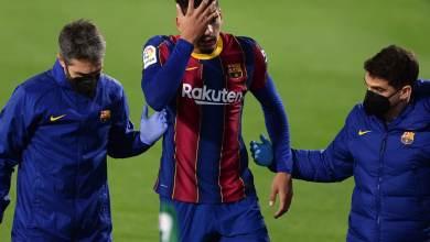 Photo of فيديو – لاعب برشلونة ينفعل على كومان ويركل مقاعد البدلاء