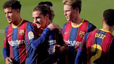 Photo of صورة – تصميم غريب لقميص برشلونة في الموسم الجديد