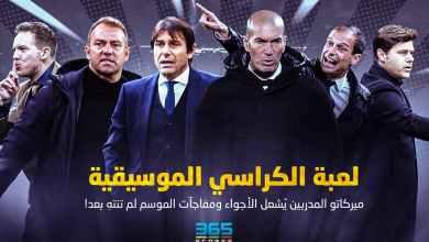 Photo of لعبة الكراسي الموسيقية – ميركاتو المدربين يُشعل الأجواء ومفاجآت الموسم لم تنتهِ بعد!