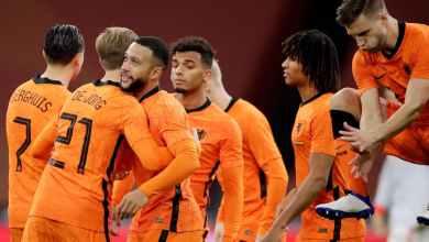 Photo of رسميًا.. دي يونج وفينالدوم وديباي على رأس قائمة هولندا في يورو 2020