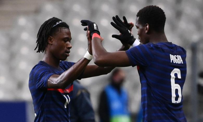 بوجبا - كامافينجا - منتخب فرنسا