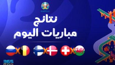 Photo of نتائج مباريات يورو 2020 اليوم السبت 12 يونيو