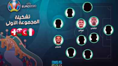 Photo of يورو 2020 – التشكيلة الأفضل من مجموعة (إيطاليا – سويسرا – تركيا – ويلز)