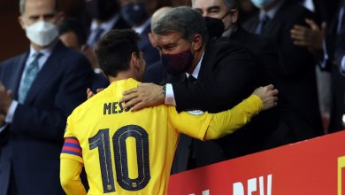 Photo of لابورتا: أجويرو سيُساعد ميسي.. وبيكيه أول من يقف بجانب برشلونة في اللحظات الصعبة