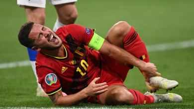 Photo of هازارد ونجم بلجيكا يغيبان عن التدريبات قبل صدام إيطاليا في ربع نهائي يورو 2020