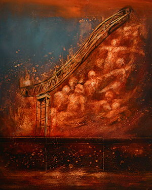 Dante's Inferno inspires young artist