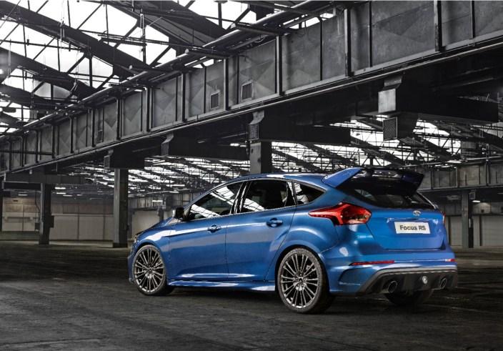 arrière Ford Focus RS 2016